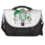 Gill Family Crest Laptop Messenger Bag