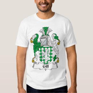 Gill Family Crest T Shirt