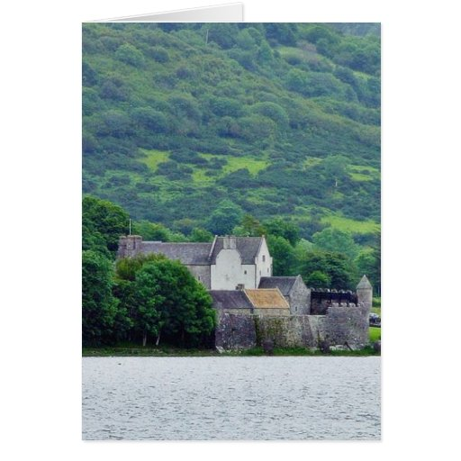 Gill Lough Lakes Ireland Parkes Castle Greeting Card