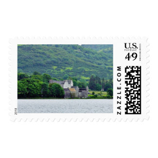 Gill Lough Lakes Ireland Parkes Castle Stamps