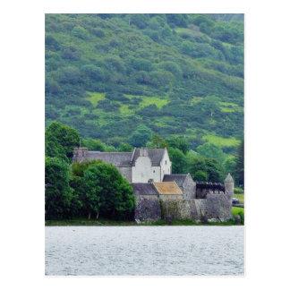Gill Lough Lakes Ireland Parkes Castle Postcard