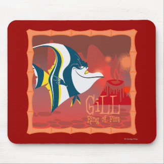 Gill - Ring of Fire Mouse Pad