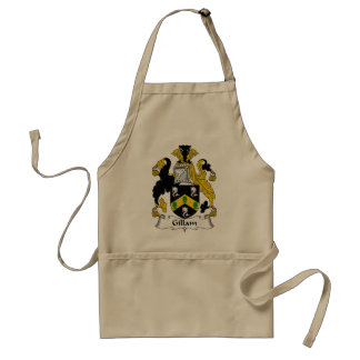 Gillam Family Crest Adult Apron