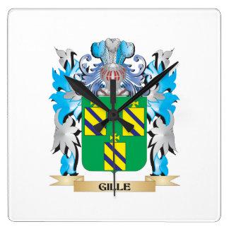 Gille Coat of Arms - Family Crest Wallclocks