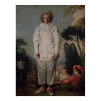 Gilles, c.1718-19 postcard