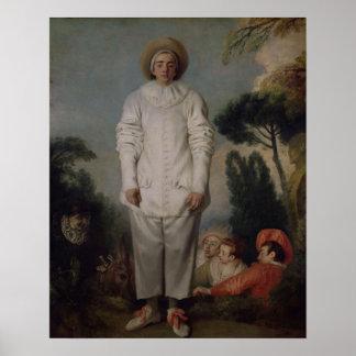 Gilles, c.1718-19 poster