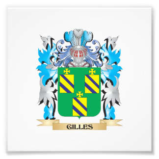 Gilles Coat of Arms - Family Crest Photo