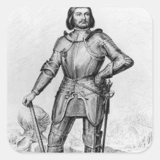 Gilles de Laval, Lord of Rais Square Sticker