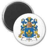 Gilles Family Crest Fridge Magnets