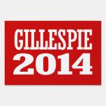 GILLESPIE 2014 YARD SIGN