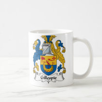 Gillespie Family Crest Mug
