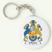 Gillespie Family Crest Keychain