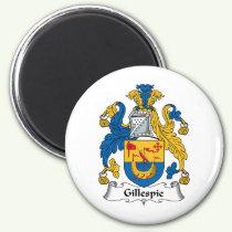 Gillespie Family Crest Magnet