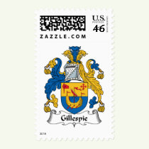Gillespie Family Crest Stamps