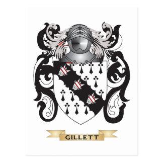 Gillett Coat of Arms Postcard