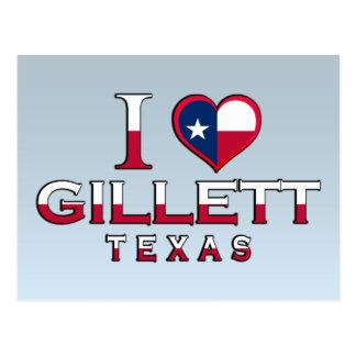 Gillett �, Texas Postcard