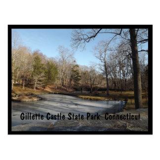 Gillette Castle State Park  Connecticut Postcard