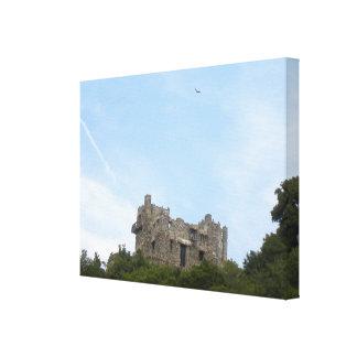 Gillette Castle wrapped canvas print
