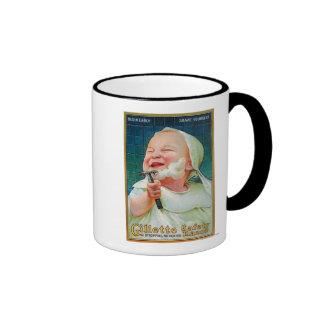 Gillette Safety Razor - Begin Early Shave Ringer Coffee Mug