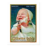 Gillette Safety Razor - Begin Early Shave Postcard