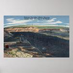 Gillette, WY - opinión de mina de carbón de Wydoda Póster