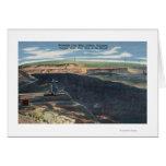 Gillette, WY - opinión de mina de carbón de Wydoda Tarjeta De Felicitación