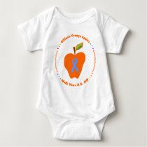 Gillian's Orange Apples Baby Bodysuit