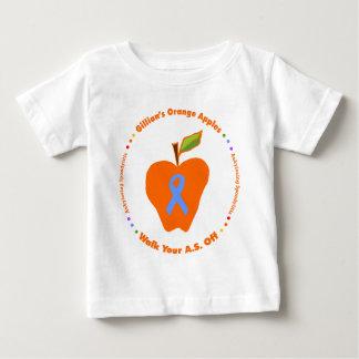 Gillian's Orange Apples Baby T-Shirt
