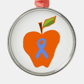 Gillian's Orange Apples Metal Ornament