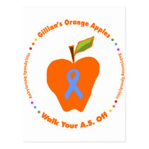 Gillian's Orange Apples Postcard