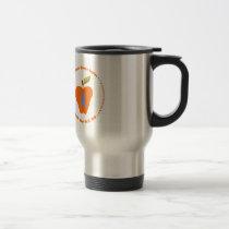 Gillian's Orange Apples Travel Mug