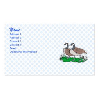 Gillie Ginnie Goose Business Card Templates