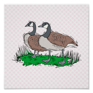 Gillie & Ginnie Goose Posters