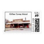 GilliesIncSM03, Gillies, Gillies Coney Island Postage Stamps