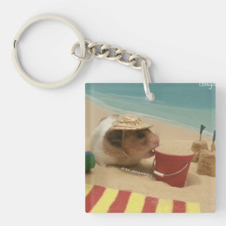 Gilligan Goes to The Beach Keychain