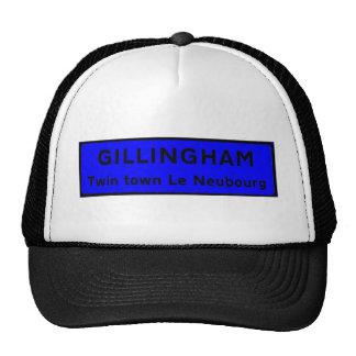 Gillingham Blue Trucker Hats