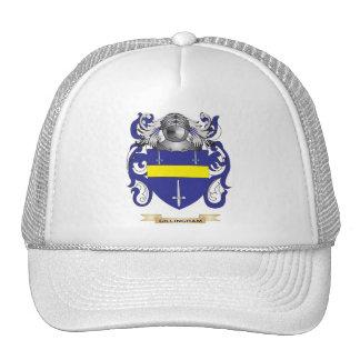 Gillingham Coat of Arms Family Crest Hat