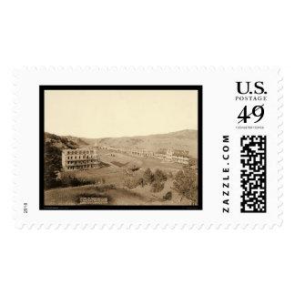 Gillispie Hotels & Minnekahta Hot Springs SD 1891 Stamps