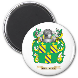Gillotte Coat of Arms Family Crest Refrigerator Magnets
