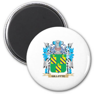 Gillotte Coat of Arms - Family Crest Magnets