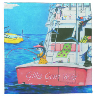 Gills Gone Wild Napkins