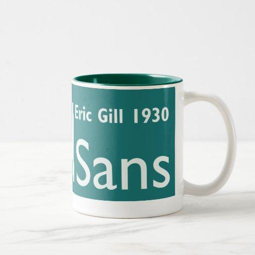GillSans Mug Lge