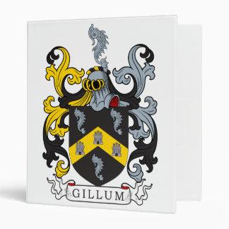 Gillum Family Crest Vinyl Binders