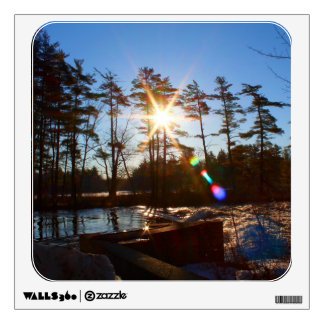 Gilman Falls Sunrise Wall Decal