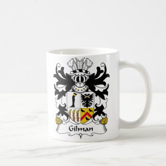 Gilman Family Crest Coffee Mug
