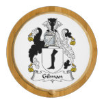 Gilman Family Crest Round Cheeseboard