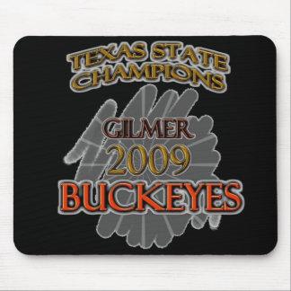 Gilmer Buckeyes Texas Football Champions 2009 Mousepad