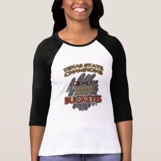 Gilmer Buckeyes Texas Football Champions 2009 T-Shirt