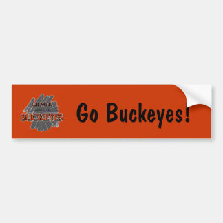 Gilmer High School Buckeyes - Gilmer, TX Bumper Sticker