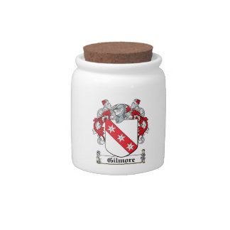 Gilmore Family Crest Candy Dishes
